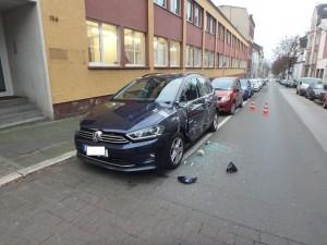 Unfall Wittensteinstr. (Foto: Polizei NRW)