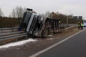 Unfall A-43 (Foto: Polizei NRW)