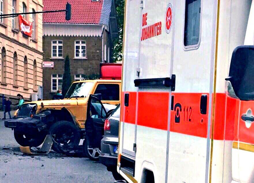 Es entstand ein hoher Sachschaden (Foto: Dominik Gunst)